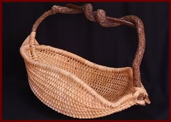 Natural Basket, by master weaver Tina Puckett